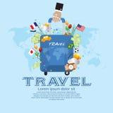 Voyage. illustration de vecteur