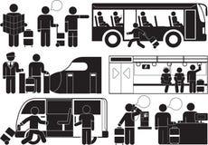 Voyage illustration de vecteur