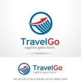 Voyage abstrait Logo Template Design Vector Photos libres de droits