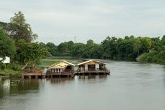 Voyage aller-retour la Thaïlande en juillet 2017 - pont chez le Kwai Photo libre de droits