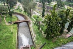 Voyage au barrage de Neyyar photographie stock