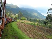 Voyage au ciel en un train Photos libres de droits