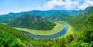 Voyage aux montagnes Photo libre de droits
