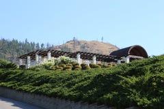 Voyage aux stations de vacances de vin de destination dans le Canada Image stock