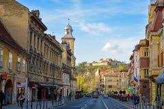 Voyage Brasov, Roumanie Photographie stock libre de droits