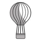 Voyage chaud d'air de ballon Photographie stock libre de droits