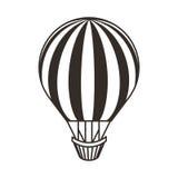 Voyage chaud d'air de ballon Photos stock