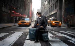 Voyage d'affaires Photographie stock libre de droits