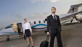 Voyage d'affaires Images stock