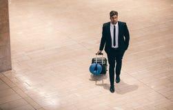 Voyage d'affaires d'aéroport Photo libre de droits