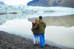 Voyage d'Afterwedding vers l'Islande Photos libres de droits