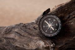 Voyage d'aventure de boussole photo stock