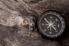 Voyage d'aventure de boussole Photographie stock libre de droits