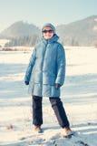 Voyage d'hiver Image libre de droits