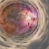 Voyage dans l'espace Photographie stock libre de droits