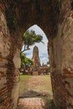 Voyage dans la vieille ville d'ayutthaya Photos libres de droits