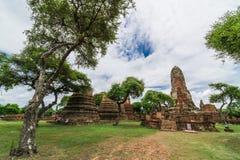 Voyage dans la vieille ville d'ayutthaya Images stock