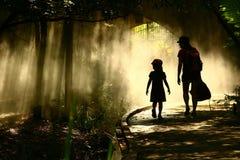 Voyage dans le jardin mystique Photographie stock libre de droits