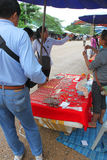 Voyage dans le Laotien Photo stock