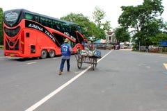 Voyage dans le Laotien Photos libres de droits