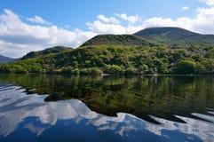 Voyage de bateau à Killarney Irlande image libre de droits