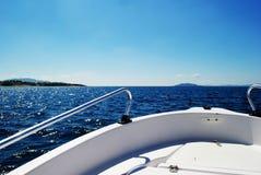 Voyage de bateau Images stock