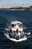 Voyage de bateau Images libres de droits