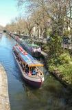 Voyage de bateau de canal, Londres Image libre de droits