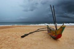 Voyage de bateau du ¡ n d'oceà de SrÃLanka Photos stock