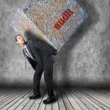 Voyage de chef de file des affaires Image libre de droits