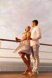 Voyage de croisière de couples Photo stock