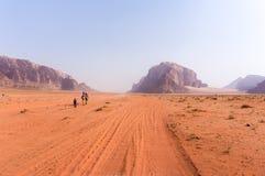 Voyage de désert Photo libre de droits