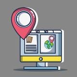 Voyage de destination d'aventure à vacation tourisme illustration de vecteur