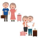 Voyage de famille Image stock