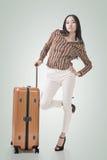 Voyage de femme Images stock
