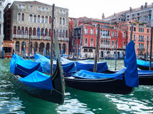 Voyage de gondole Photographie stock
