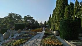 Voyage de jardin botanique de la Bulgarie Balchik Photo stock