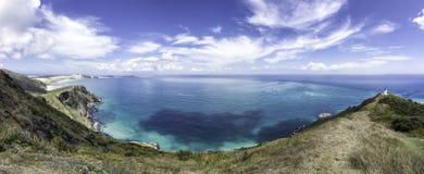 voyage de jour de la Nouvelle Zélande de reinga de cap images stock