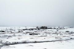 Voyage de l'Islande Photo libre de droits