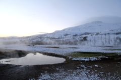 Voyage de l'Islande Photos libres de droits