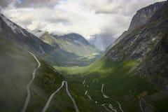 Voyage 2018 de la Norvège photographie stock