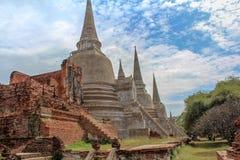 Voyage de la Thaïlande Asie de temple d'Ayutthaya photo libre de droits