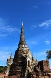 Voyage de voyage le jour ensoleillé et ciel bleu en Thaïlande Image libre de droits