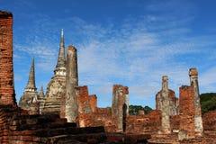Voyage de voyage le jour ensoleillé et ciel bleu en Thaïlande Images libres de droits