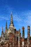 Voyage de voyage le jour ensoleillé et ciel bleu en Thaïlande Photo stock
