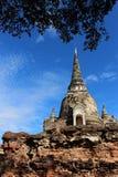 Voyage de voyage le jour ensoleillé et ciel bleu en Thaïlande Photographie stock