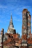 Voyage de voyage le jour ensoleillé et ciel bleu en Thaïlande Photos stock