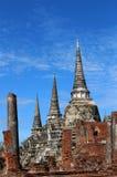 Voyage de voyage le jour ensoleillé et ciel bleu en Thaïlande Photos libres de droits