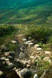 Voyage de montagne photographie stock libre de droits