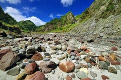 Voyage de montagne de Pinatubo de support Photo libre de droits